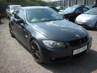 BMW 3 SERIES 3.0 335I M SPORT 4d AUTO 302 BHP (black) 2007