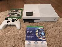£250.00 XBOX ONE S WITH CALL OF DUTY REMASTERED AND INFINITE WARFARE AND FIFA 17