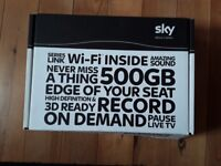 Sky+ HD 500GB Box with built in wi-fi