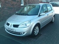 2008 58 RENAULT SCENIC 1.6 DYNAMIQUE 5DR MPV ** ONLY 40000 MILES ** 6 SPEED ** FULL SERVICE HISTORY