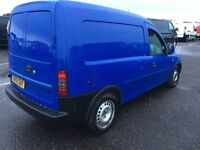 2005/55 vauxhall combo 1.3 cdti diesel small panel van same size as ford Transit connect