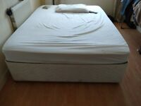 Double bed and materess