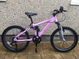 Carrera Sol 20 Girls Mountain Bike-Pink