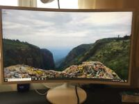 Samsung 32inch curved monitor