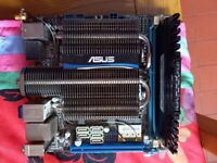 Asus - E45M1-I DELUXE mini itx motherboard with 4g ram.