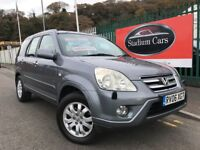 2006 (06 reg) Honda Cr-V 2.2 i-CDTi Executive Station Wagon 5dr SUV Turbo Diesel 6 Speed Manual