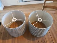 2 lampshades for sale