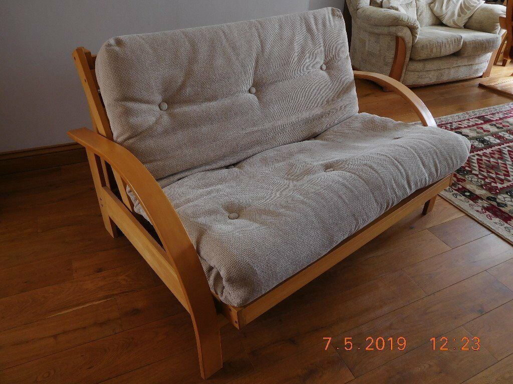 Kyoto futon 2 seater bed settee   in Plymouth, Devon   Gumtree