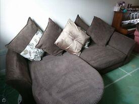 DFS corner sofa left or right .