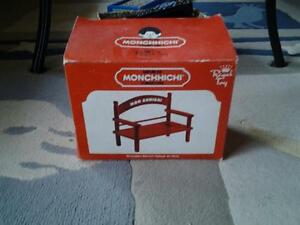 MONCHHICHI ROYAL TOY BENCH Kingston Kingston Area image 1