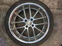 "Alloy wheels 17"" inch Toyota Aygo Celica Corolla Verso IQ MR2 Prius Starlet Yaris alloys wheel"