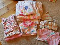 Girls Sleepwear-Sleepbag Bundle 9-12 months