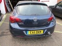 Vauxhall Astra 2011 Petrol *Breaking all parts*