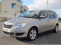 2015 SKODA ROOMSTER DIESEL ONLY 5900 MILES FROM NEW WHEEL CHAIR VEHICLE