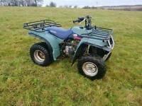 Yamaha timberwolf 250 cc quad bike atv farm stables etc has minor fault