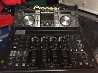 Pioneer MEP 700 controller & DJM 5000 Mixer