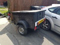 trailer used fo camping