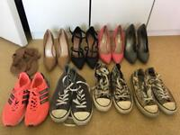 Shoe collection size UK 6 // EUR 39 — individually priced from £5