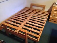 Futon bed frame - double bed size
