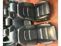 Audi A8 S8 D3 full black leather interior Mint