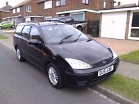FORD FOCUS ESTATE LONG MOT 1.6 ROOMY AND RELIABLE.