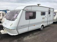 Elddis typhoon 4 berth lightweight end wc abi swift can deliver over 100 in stock