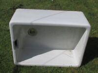 Used Butler sink for garden use