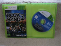 Xbox 360 Rock Band 3 Game