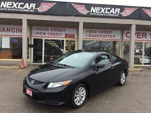 2012 Honda Civic EX-L C0UPE AUT0 LEATHER NAVI SUNROOF 97K