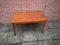 Danish retro dining table