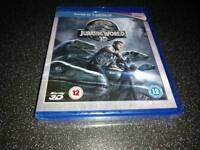 Jurassic World 3D Blu-ray.