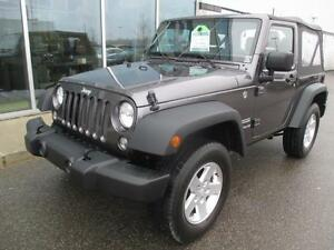 2016 Jeep Wrangler SPORT MANUAL BAS KM MANUAL LOW KM