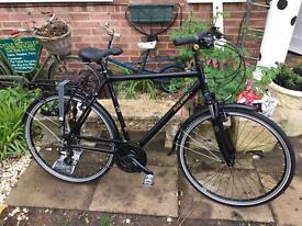 Raleigh Pioneer 4 Hybrid Bike VGC