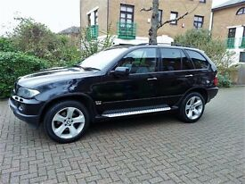 BMW X5 3.0 D SPORT AUTOMATIC FULL LEATHER SAT NV AND TV SERVICE HISTORY