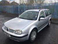 2003 Volkswagen GOLF MK.4 Estate 1.9 TDI ~£1950 ONO~