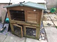 Guinea Pig Hutch, Bag of Straw and Hay Norwich £5