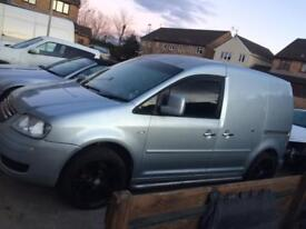 Vw caddy 55 plate