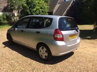 CHEAP CAR HONDA JAZZ 1.4 PETROL MANUAL FULL SERVICE LONG MOT 1 LADY OWNER