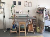 Desk space / work bench available Sunbury Workshops SHOREDITCH