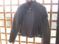 Leather Biker Jacket & Trousers