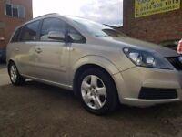 2007 57 Vauxhall Zafira 1.8 - 7 Seater - 3 Months Warranty