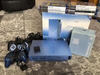Limited Edition Aqua PlayStation 2