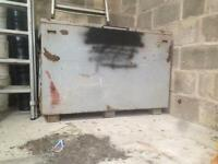 Security tool box lock box unit garage