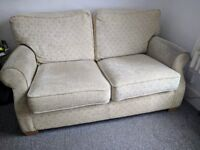 Sofa bed, metal mechanism, very good condition, removable cushion covers, easy pull out bed