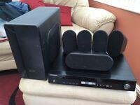 Samsung dvd home cinema and all around sound system HT/X30