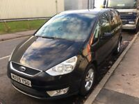 2009 FORD GALAXY 2.0 PETROL BLACK 7 SEATER WITH MOT HISRTOY