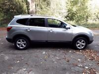 Nissan Qashqai+2 Low Millage and top spec
