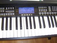Electromis keyboard in solid wood frame MK-933 61 KEYS 163 PCM TIMBRES TOUCH RESPONSE RECORD/ £90