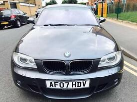 BMW 1 SERIES 2.0 120d M Sport 5dr 1 OWNER+SAT NAV+LEATHER PACK