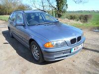 2000 BMW E46 318i Automatic ESTATE Touring - BLUE - Good Runner